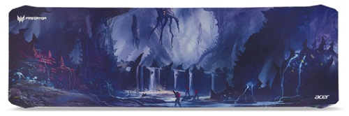 Acer 695376 - Acer ACER PREDATOR MOUSEPAD, XL SIZE 930 x 300 x 3 mm, ALIEN JUNGLE, Fabric&Rubber - NP.MSP11.009